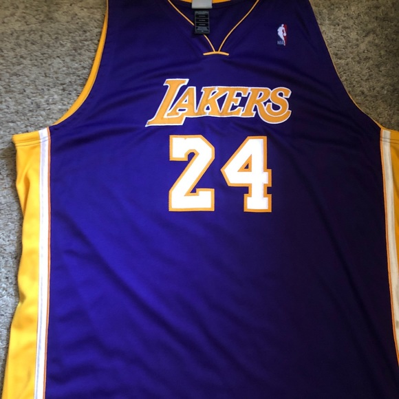 online retailer 8f123 75558 Authentic KOBE BRYANT LAKERS jersey